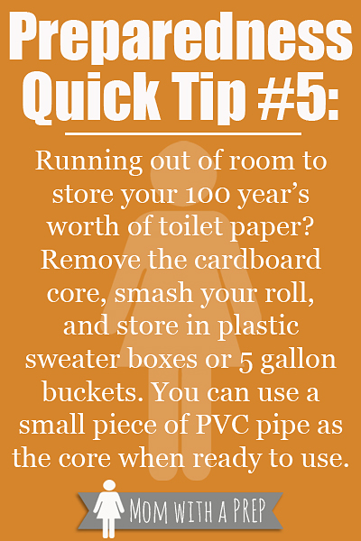 PQT #5 - Where are you gonna store all that toilet paper?!