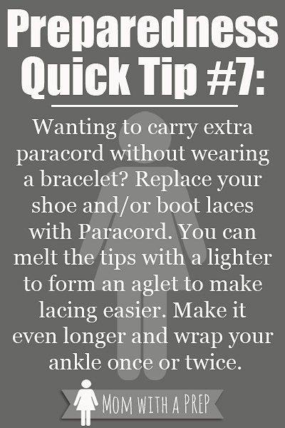 PQT #7 - Alternative Shoe Laces that can safe your life!