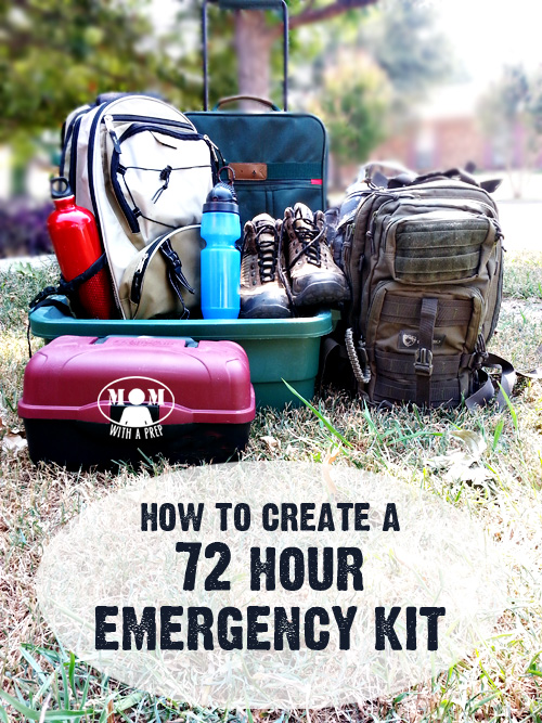 Create a 72 Hour Emergency Kit for those times when you need to grab a bag and go! #beprepared #NatPreps #30daystoprep #30days30ways