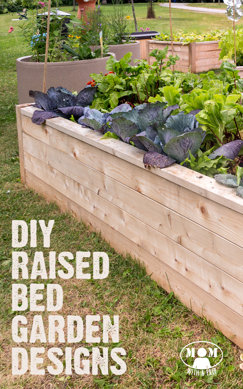 9 DIY Raised Bed Garden Designs and Ideas - Mom with a PREP on Backyard Raised Garden Bed Ideas id=35468