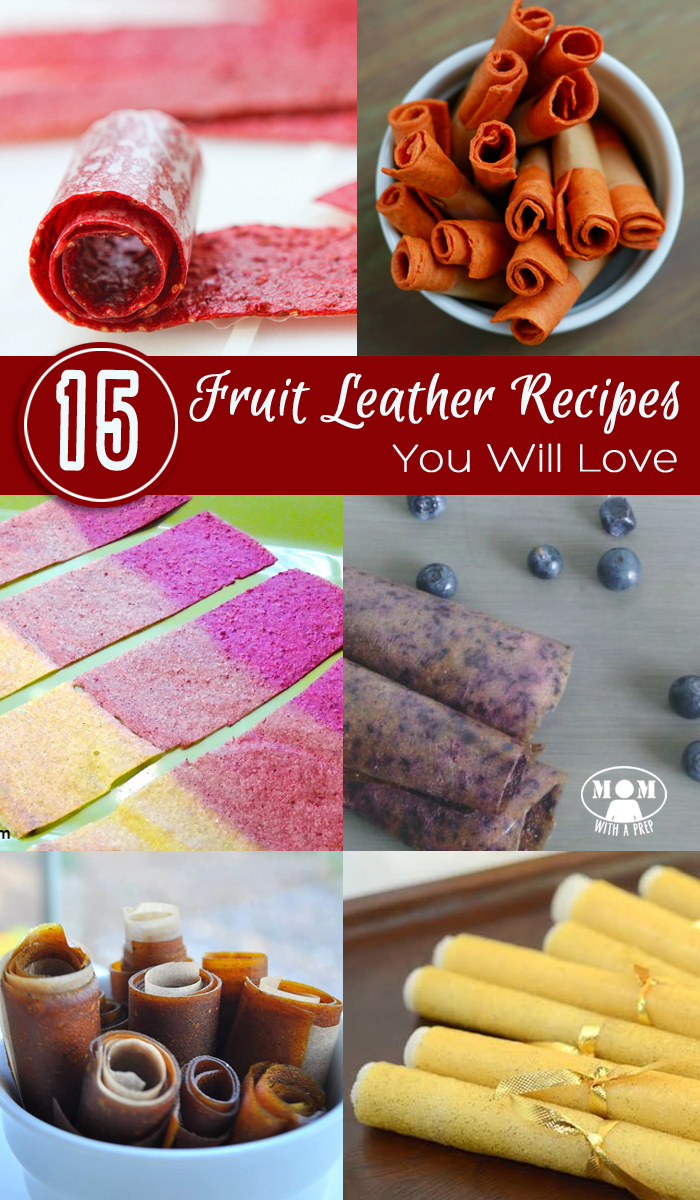 15+ Mouthwatering Fruit Leather Recipes and tips your family is sure to enjoy! Great for snacks and lunches and back to school!