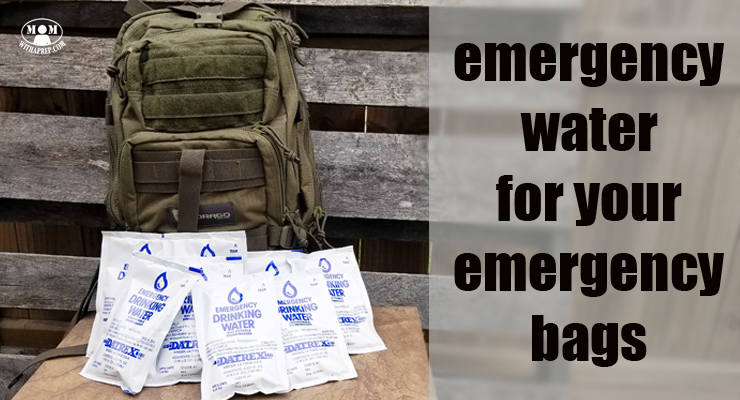 Emergency Water in a Bag for Your Emergency Kits