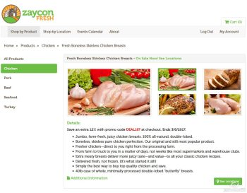 Curious how Zaycon Fresh works? And what you'd possibly do with 40 lbs of chicken? I'll let you know!