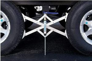 x chock tire lock