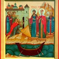 ΑΓΙΟΙ ΠΕΤΡΟΣ ΚΑΙ ΦΕΒΡΩΝΙΑ ΤΟΥ ΜΟΥΡΟΜ(25-6)Το άγιο ζευγάρι που έμεινε μαζί αιώνια, προστάτες των έγγαμων ζευγαριών