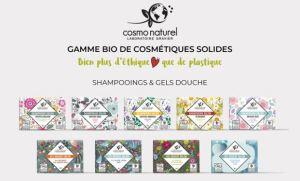 Eco-geste shampoing solide - mon alter éco - gamme Cosmo naturel Laboratoire Gravier
