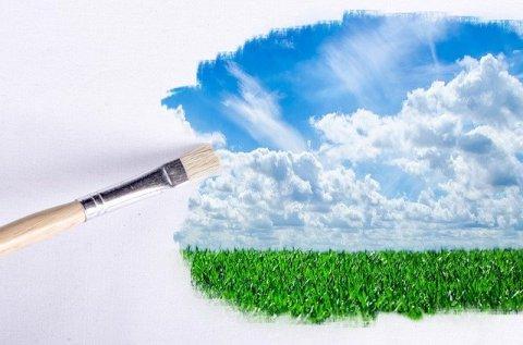 ne plus être victime du greenwashing - peinture verte paysage - mon alter éco