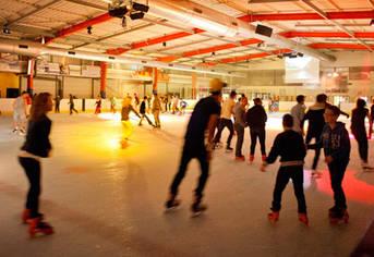 Soirée DJ à la patinoire