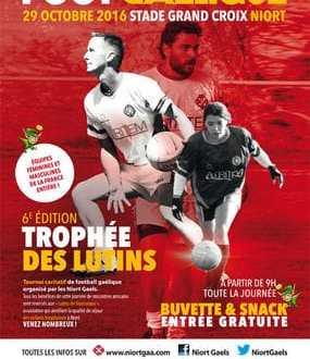 Football gaélique – 6e édition du Trophée des Lutins