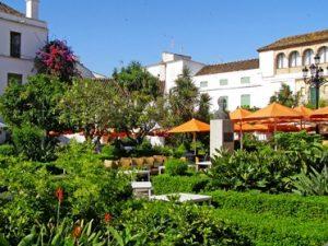 Place des orangers à Marbella