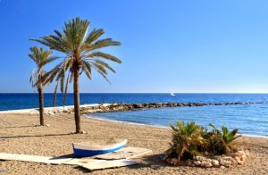 Plage à Marbella