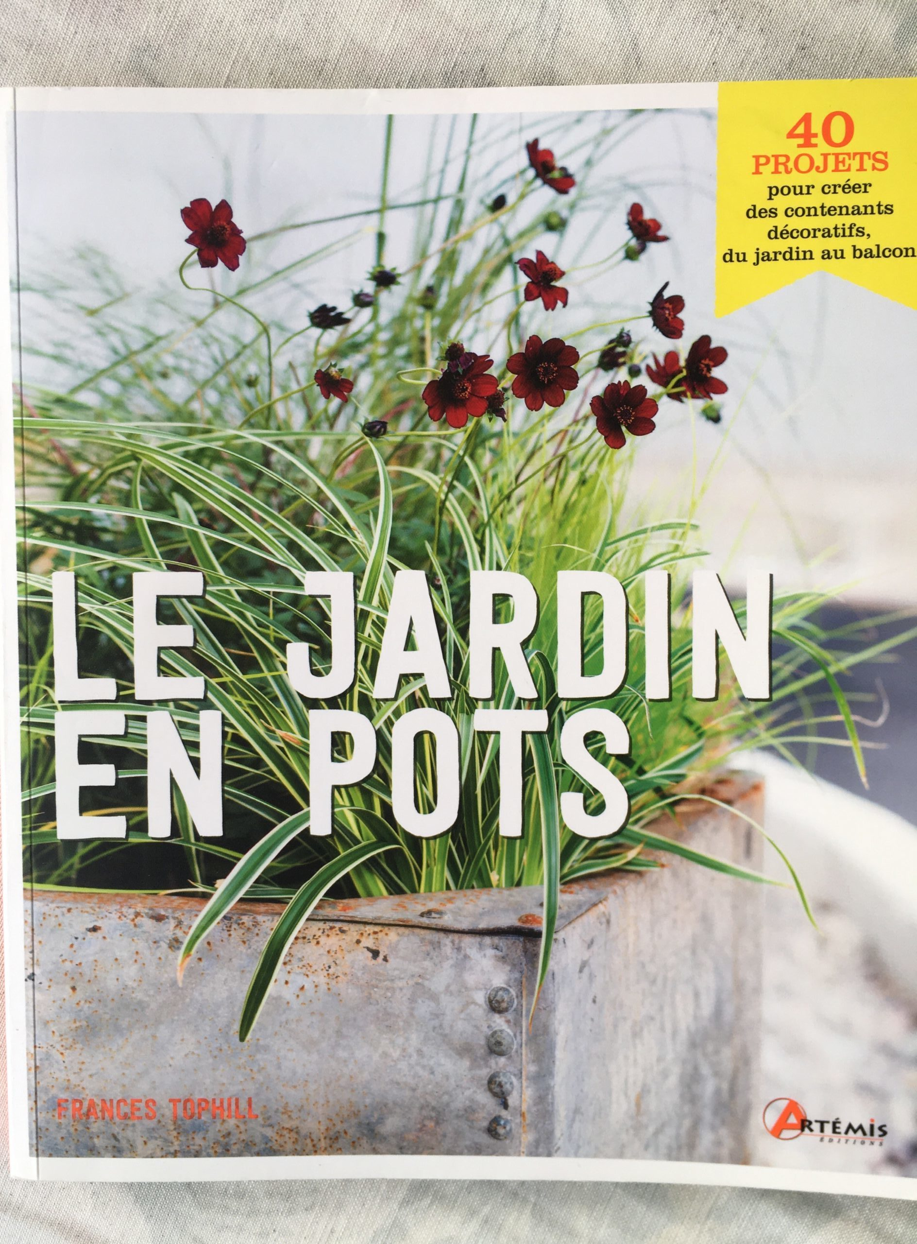 Le Jardin en Pots : Chronique du livre