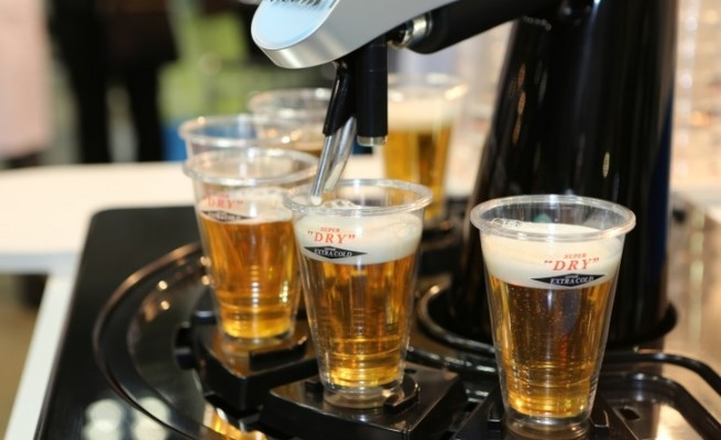 asahi robot barman