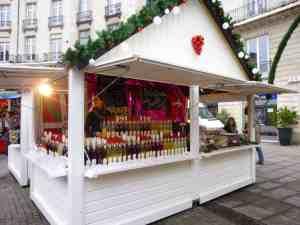 Chalet fabrication fançaise Noël à Nantes