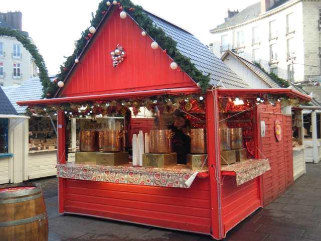 Chalet au Marché de Noël de Nantes