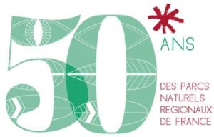 Logo 50 ans des parcs régionaux