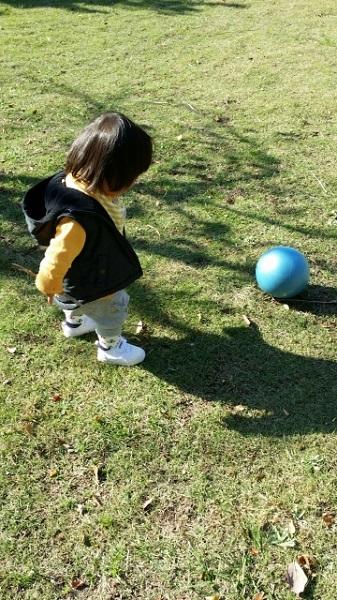ボールを使って、遊んで全身運動をしよう♪