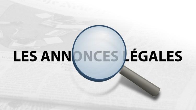 Découvrez tout ce qu'il faut savoir sur l'annonce légale
