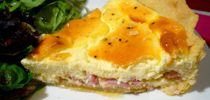 Part de quiche lorraine © French Moments