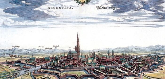 Strasbourg pendant la Guerre de Trente Ans en 1644