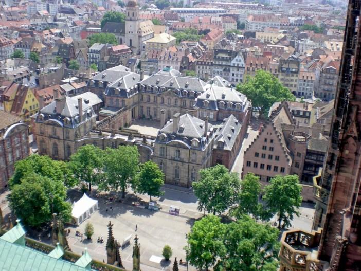 Panorama de la cathédrale de Strasbourg
