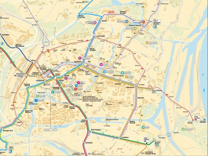 Transports en Commun à Strasbourg