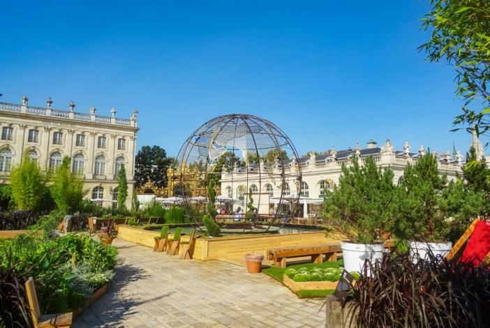 Jardin éphémère, Nancy © French Moments