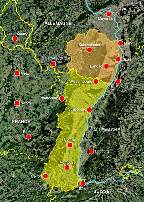 Alsace Palatinat