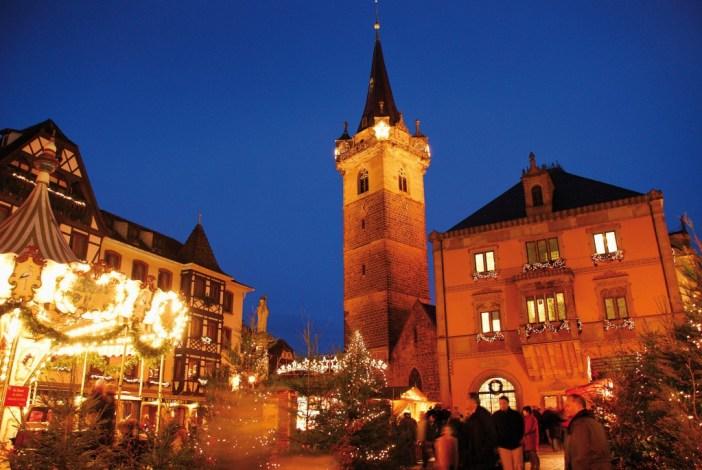 Le marché de Noël à Obernai © OT Obernai