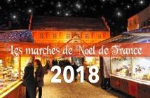 Dates des marchés de Noël de France 2018 © French Moments