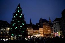 Grand sapin de la place Kléber à Strasbourg © French Moments