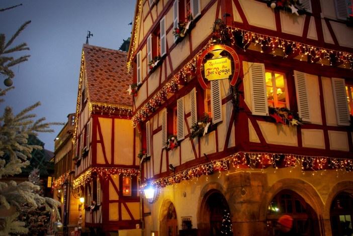 Rue des Marchands à Noël © French Moments
