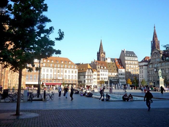 Place Kléber Grande Île de Strasbourg
