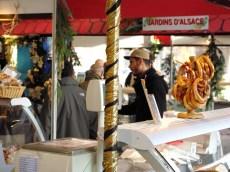 Marché de Noël alsacien de la Gare de l'Est Paris