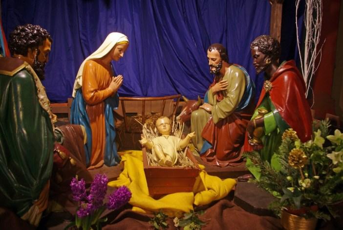 Crèche de Noël Paris