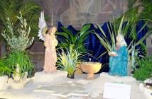 crèche de Noël de la cathédrale de Strasbourg