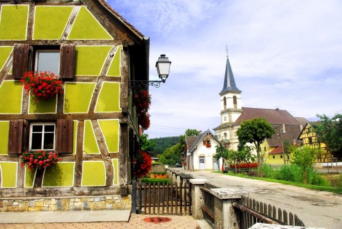 Hirtzbach Sundgau Alsace