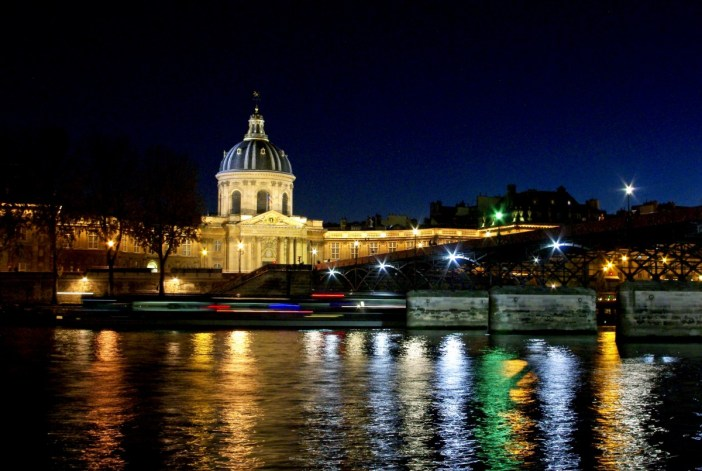 Pont des Arts Institut de France Paris