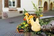 Eguisheim Pâques Alsace