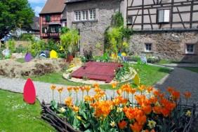 Turckheim Alsace printemps