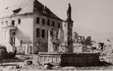 """Un village de la """"Poche de Colmar"""" bombardé en 1944-45"""