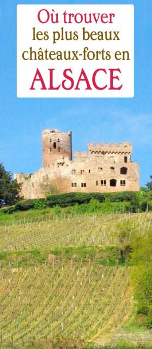 châteaux-forts en Alsace Kintzheim