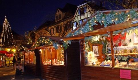 marché de Noël d'Obernai © Office de Tourisme d'Obernai