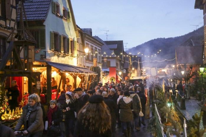 Marché de Noël de Ribeauvillé © Office de Tourisme Pays de Ribeauvillé-Riquewihr