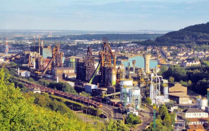 Lorraine industrielle - Aciéries d'Hayange en Moselle (domaine public)