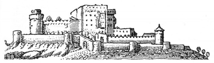 Le château du Haut Kœnigsbourg en 1633.