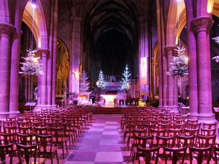 La nef de l'église Saint-Georges de Sélestat © Selestadium Novum