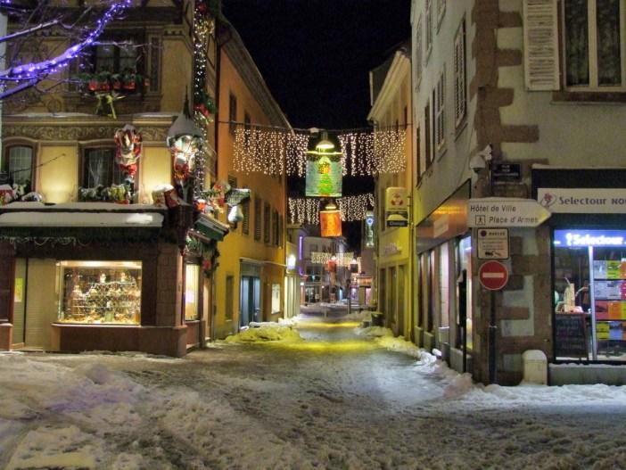 Illuminations menant au marché de Noël de Sélestat © Selestadium Novum