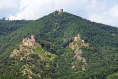 Trois châteaux de Ribeauvillé © French Moments