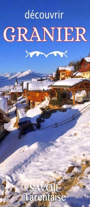 Un bel hiver sur le versant du soleil à Granier © French Moments